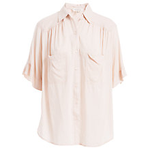 Buy Max Studio Elbow-Length Sleeve Shirt, Ballet Pink Online at johnlewis.com