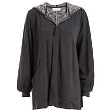 Buy Max Studio Zip Through Hoodie, Charcoal Grey Online at johnlewis.com