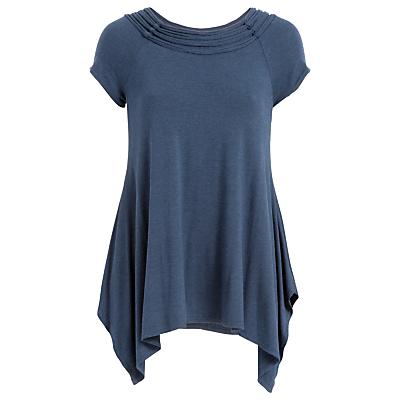 Max Studio Cap Sleeve Long Jersey Top