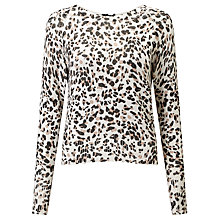 Buy Marella Quiche Printed Jumper, Cream Online at johnlewis.com