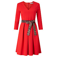 Buy Marella Nebbia Belted Dress, Red Online at johnlewis.com