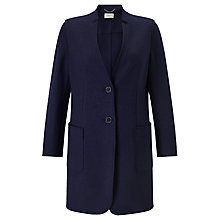 Buy Marella Verdun Coat, Navy Online at johnlewis.com