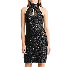 Buy Lauren Ralph Lauren Sleeveless Sequin Dress, Black Online at johnlewis.com
