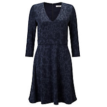 Buy Marella Parana Jacquard Dress, Navy Online at johnlewis.com