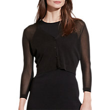 Buy Lauren Ralph Lauren Chiara Cardigan, Black Online at johnlewis.com