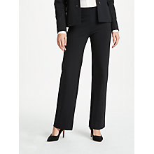 Buy Winser London Miracle Trousers, Black Online at johnlewis.com