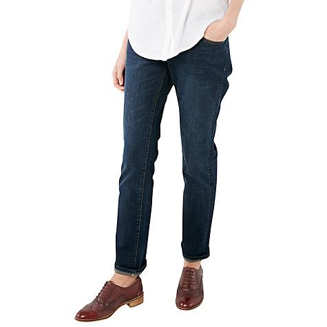 Buy White Stuff Abigail Straight Leg Jeans Authentic Dark | John