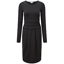 Buy Pure Collection Lindsey Heavy Dress, Charcoal Online at johnlewis.com