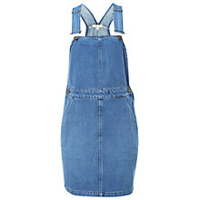 Buy White Stuff Dixie Dungaree Dress, Denim Online at johnlewis.com