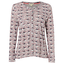 Buy White Stuff Birds Of Paradise Jersey Shirt, Sherbet Pink Online at johnlewis.com