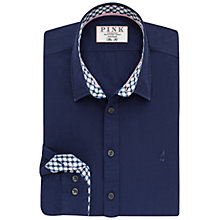 Buy Thomas Pink Russell Plain Slim Fit Shirt, Navy/White Online at johnlewis.com