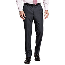Buy Thomas Pink Blair Birdseye Wool Trousers, Navy Online at johnlewis.com