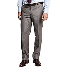 Buy Thomas Pink Ledger Flannel Regular Fit Trousers, Grey Online at johnlewis.com