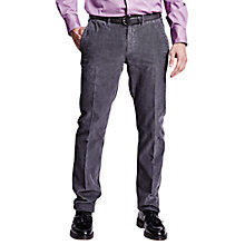 Buy Thomas Pink Mull Corduroy Trousers, Charcoal Online at johnlewis.com