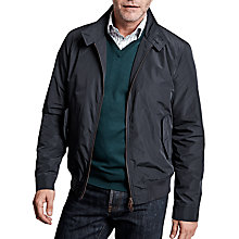 Buy Thomas Pink Harrington Jacket, Navy Online at johnlewis.com
