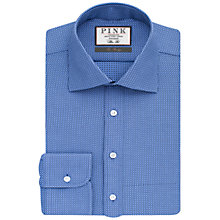 Buy Thomas Pink Kingsford Check Slim Fit Shirt, Blue/Navy Online at johnlewis.com
