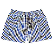Buy Thomas Pink Hobday Check Boxer Shorts, Blue/White Online at johnlewis.com