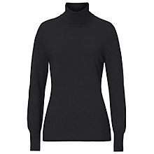 Buy Betty Barclay Polo Neck Jumper, Black Online at johnlewis.com