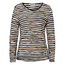 Buy Betty Barclay Striped Top, Dark Blue/Beige Online at johnlewis.com