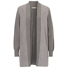Buy Betty Barclay Long Cardigan, Grey Melange Online at johnlewis.com