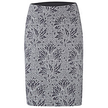 Buy White Stuff Moon and Stars Jersey Skirt, Merchant Grey Online at johnlewis.com