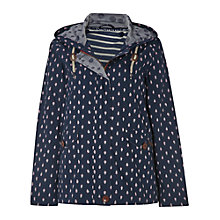 Buy White Stuff Jitter Short Mac, Navy Online at johnlewis.com