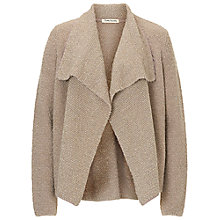 Buy Betty Barclay Textured Waterfall Cardigan, Taupe Melange Online at johnlewis.com