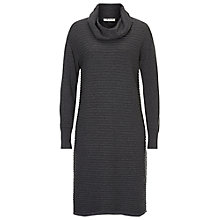 Buy Betty Barclay Ribbed Knit Dress, Dark Grey Online at johnlewis.com