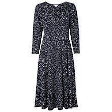 Buy White Stuff Socialite Jersey Dress, Navy Online at johnlewis.com