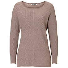 Buy Betty Barclay Chevron Ribbed Jumper, Moon Rock Online at johnlewis.com