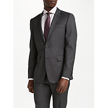 Buy Richard James Mayfair Wool Pindot Slim Fit Suit Jacket, Charcoal Online at johnlewis.com