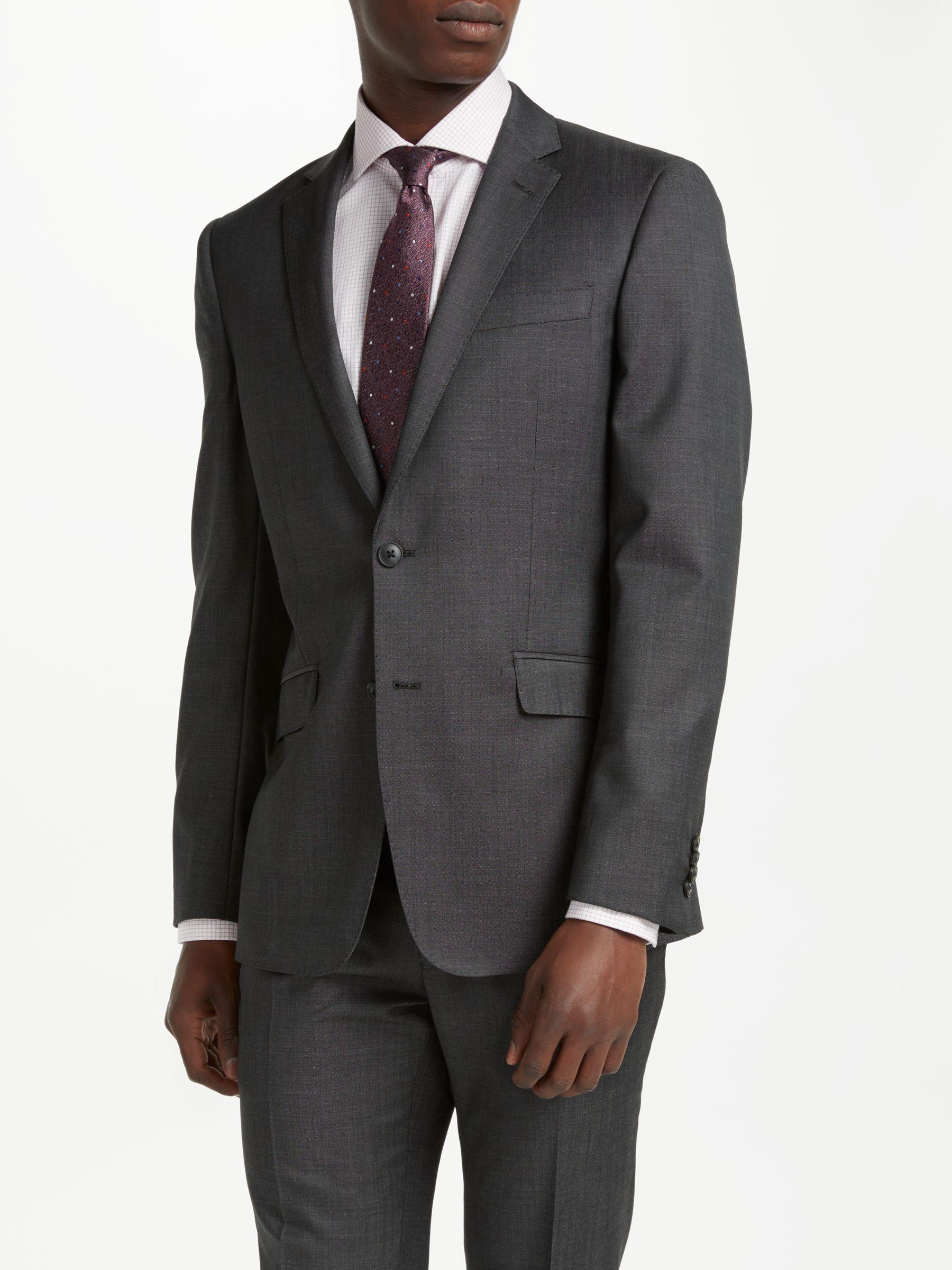 Richard James Mayfair Richard James Mayfair Wool Pindot Slim Fit Suit Jacket, Charcoal
