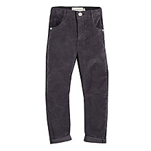 Buy Angel & Rocket Boys' Moleskin Trousers, Grey Online at johnlewis.com