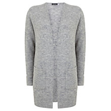 Buy Mint Velvet Cocoon Cardigan, Grey Online at johnlewis.com