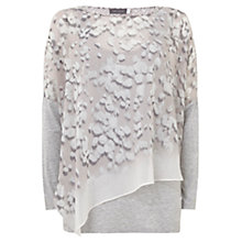 Buy Mint Velvet Robee Print Double Layer T-Shirt, Multi Online at johnlewis.com