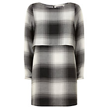 Buy Mint Velvet Fine Check Layer Dress, Multi Online at johnlewis.com