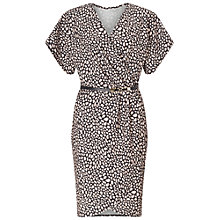Buy Miss Selfridge Printed Wrap Belted Dress, Multi Online at johnlewis.com