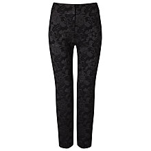 Buy Phase Eight Erica Trousers, Black/Gunmetal Online at johnlewis.com