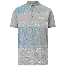 Buy BOSS Green Pro Golf Paddy MK 3 Polo Top, Light Pastel Grey Online at johnlewis.com