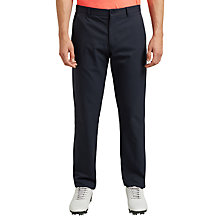 Buy BOSS Green Pro Golf Hakan Slim Fit Trousers, Navy Online at johnlewis.com