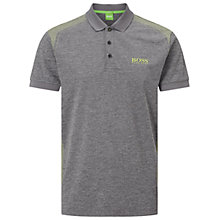 Buy BOSS Green Pro Golf Paddy Pro 3 Polo Top, Medium Grey Online at johnlewis.com