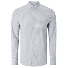 Buy J. Lindeberg Daniel Season Stretch Cotton Patterned Shirt, Off White Online at johnlewis.com