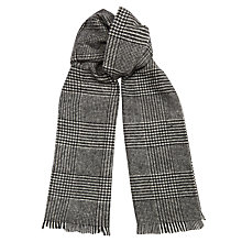 Buy Jigsaw Wool Herringbone Scarf Online at johnlewis.com