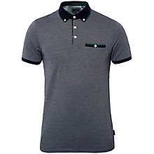 Buy Ted Baker Luigi Striped Cotton Polo Shirt Online at johnlewis.com