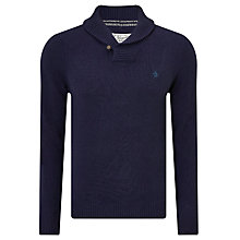 Buy Original Penguin Shawl Neck Lambswool Blend Jumper Online at johnlewis.com