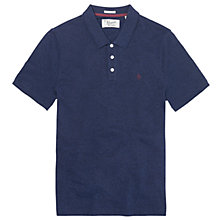 Buy Original Penguin Jaspe Polo Top, Evening Blue Online at johnlewis.com