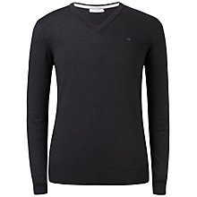 Buy J. Lindeberg Lymann True Merino V-Neck Jumper Online at johnlewis.com