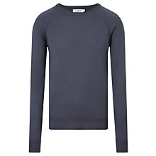 Buy J. Lindeberg Andre Merino Wool Jumper, Washed Blue Online at johnlewis.com