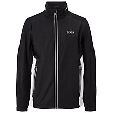 Buy BOSS Green Pro Golf Jalay Pro1 Golf Jacket, Black Online at johnlewis.com