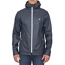 Buy Original Penguin Hevea Rubber Ratner Showerproof Jacket, Dark Sapphire Online at johnlewis.com